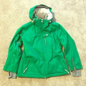 Obermeyer women's ski parka 8 petite green
